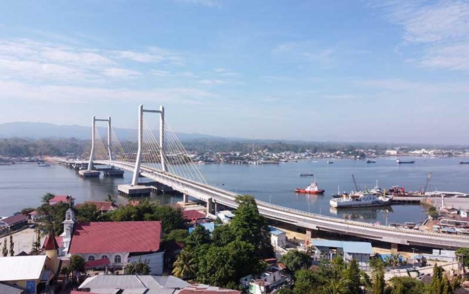 Presiden Jokowi Dipastikan Datang Bersama  Menteri PUPR Resmikan Jembatan Teluk Kendari