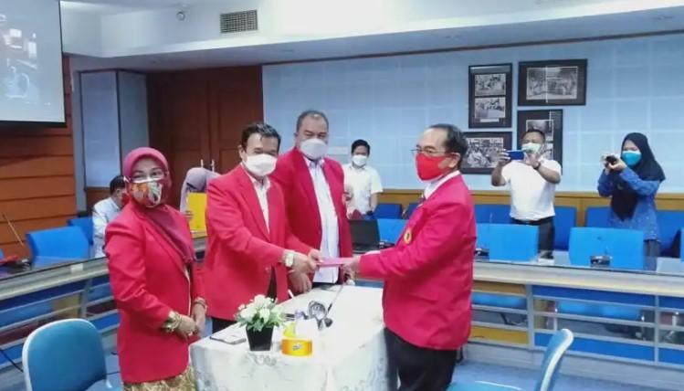 Prof Jamaluddin Daftarkan Diri sebagai Bakal Calon Rektor Unhas periode 2022-2026