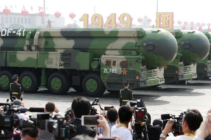 Pusat Pengembangan Peluru Kendali Antar Benua Milik China Bikin  Amerika Panik