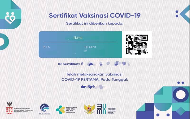 QR Code Bikin Sertifikat Vaksin Tidak Bisa Dipalsukan