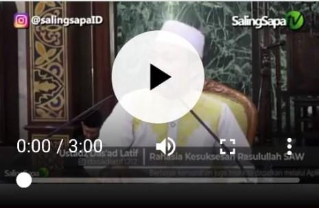 BERITA VIDEO: Ustadz Das'ad Latief: Rahasia Menghadapi Istri yang Suka Ngomel