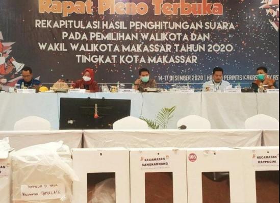 Raup 218.908 Suara, KPU Resmi Tetapkan Danny-Fatma Pemenang Pilwali Makassar 2020