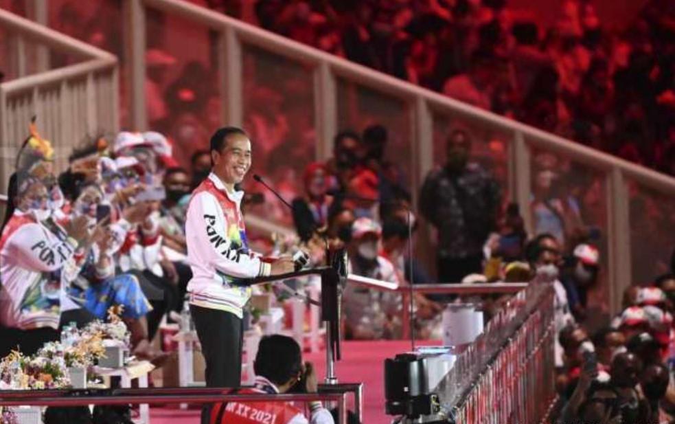 Resmi Buka PON XX di Papua, Jokowi ungkap dua kebanggaan