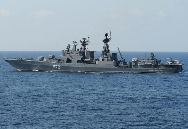 Respon Tindakan Amerika, Rusia Kirim Puluhan Kapal Perang ke Samudra Pasfik