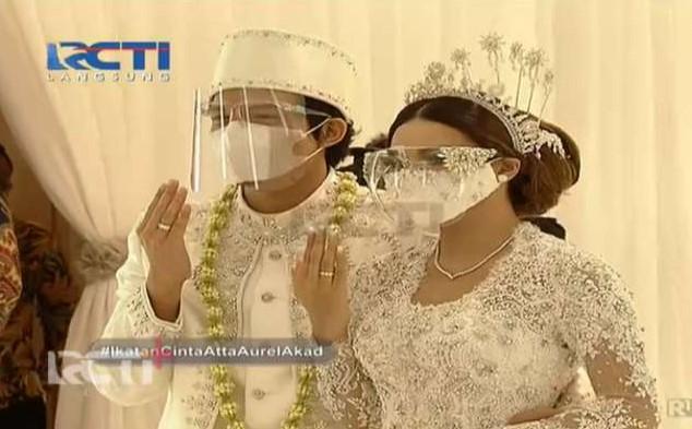 Sah!, Atta Halilintar-Aurel Hermansyah Resmi Jadi Suami Istri