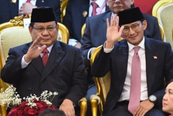 Sandiaga-Prabowo Masuk Kabinet, Politikus NasDem: Percuma Kemarin Berdarah-darah di Pilpres