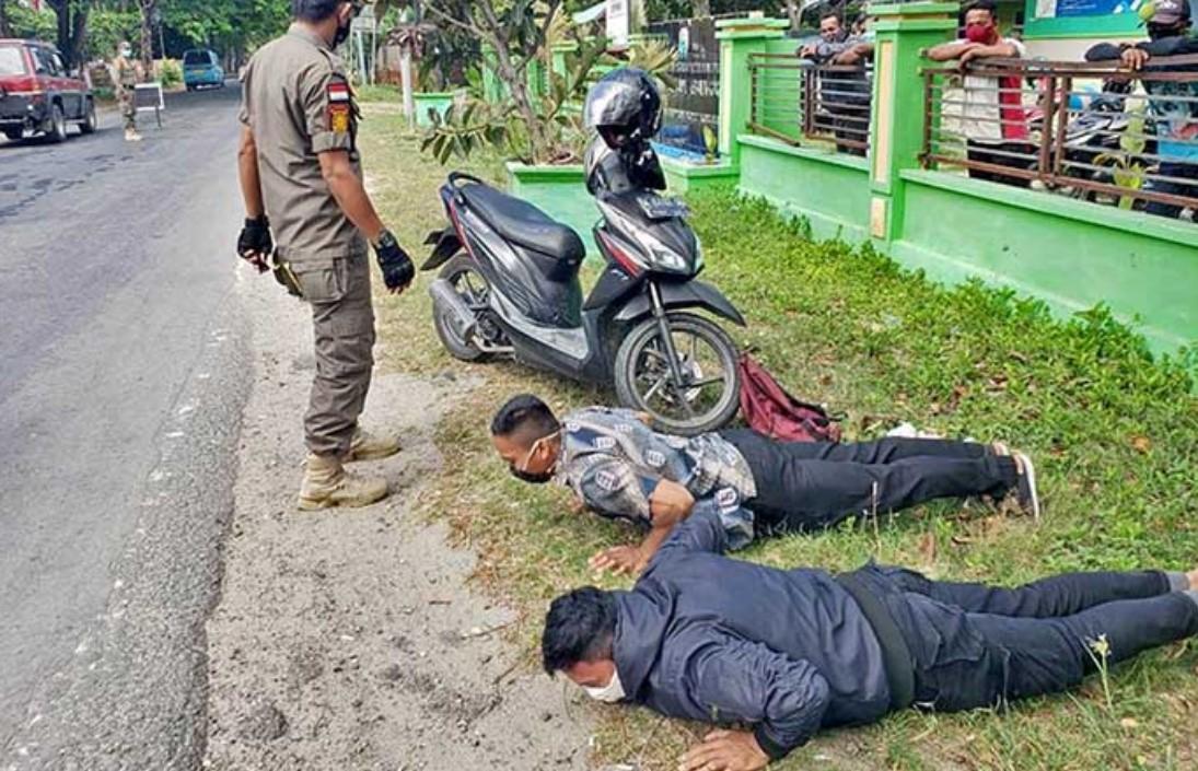 Sanksi Pelanggar Prokes di Majene, Disuruh Push Up hingga Hafal Pancasila