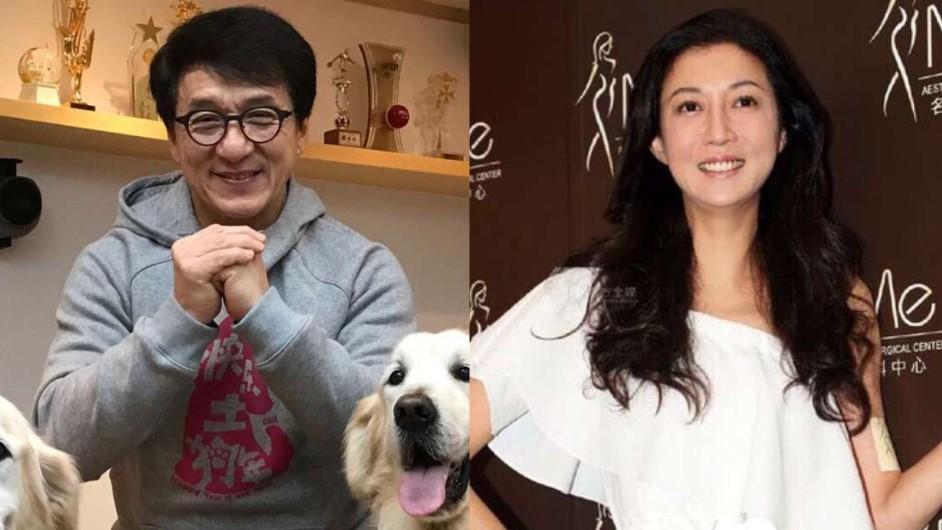 Selingkuhan Jackie Chan Akhirnya Muncul ke Publik