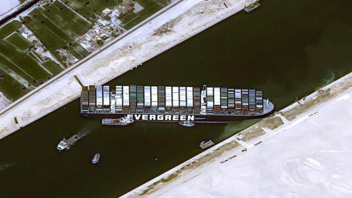 Sidang Insiden Evergreen di Terusan Suez, Pemilik Kapal Ajukan Tawaran Baru