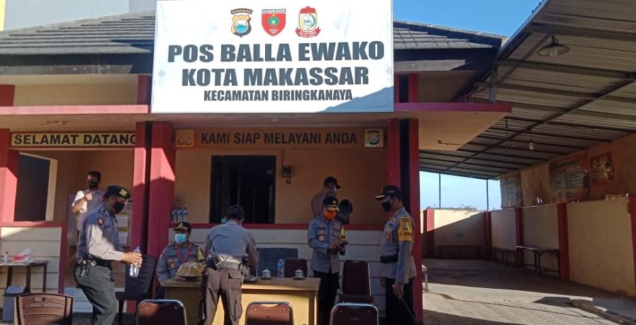 Sinergi dengan Masyarakat, Polda Sulsel Bangun Balla 2.615 Ewako Hadapi Covid19