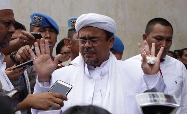 Soal Eksepsi Habib Rizieq yang Singgung Kerumunan Jokowi-Ahok, Ini Kata Majelis Hakim.