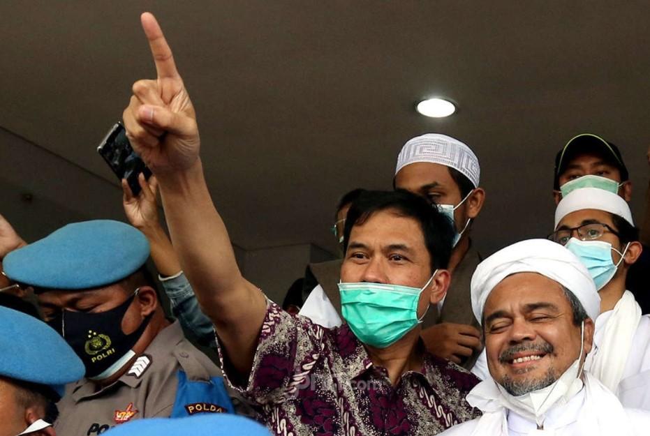 Soal Munarman: Habib Rizieq Bilang Ada Sosok Jenderal yang Panik