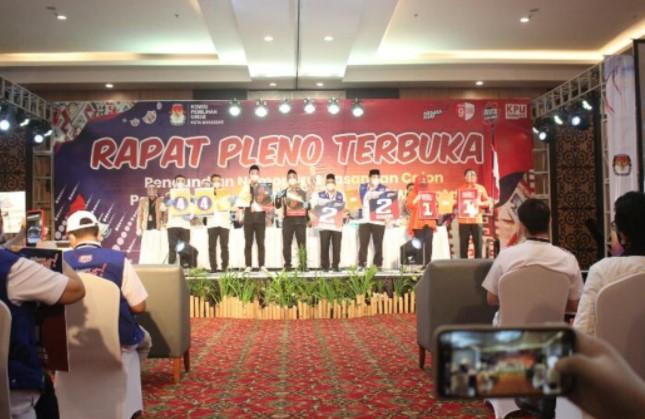 Spesimen Surat Suara Pilwalkot Makassar Siap Dicetak, Foto Calon Tak Pakai Masker