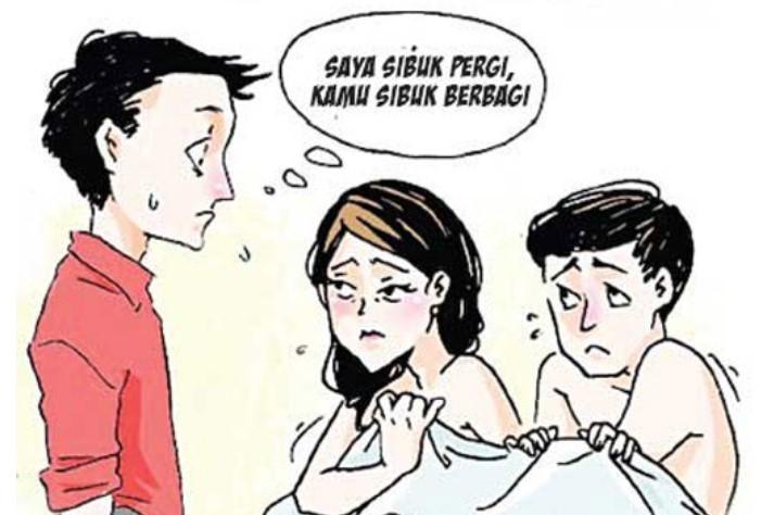 Suami Digoyang Ombak, Istri Digoyang Oknum Dewan Torut