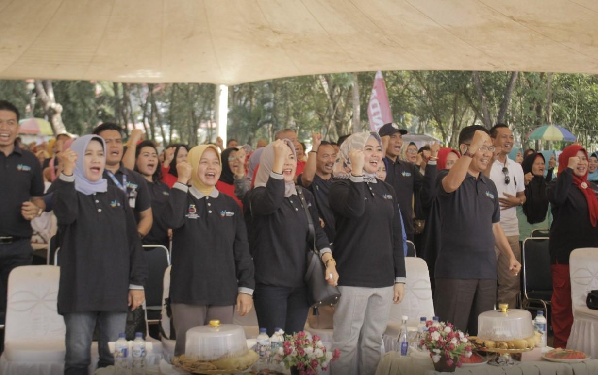 Sukses, Sosialisai Germas Kota Kendari Diikuti 800 Peserta