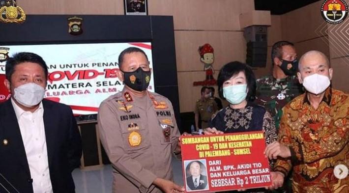 Sumbangan Fiktif Akidi Tio Bikin Kapolda Sumsel Dicopot dari Jabatannya