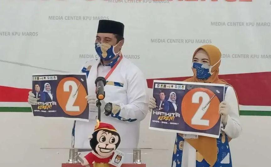 Survei Insert Institute Unggulkan Chaidir-Suhartina