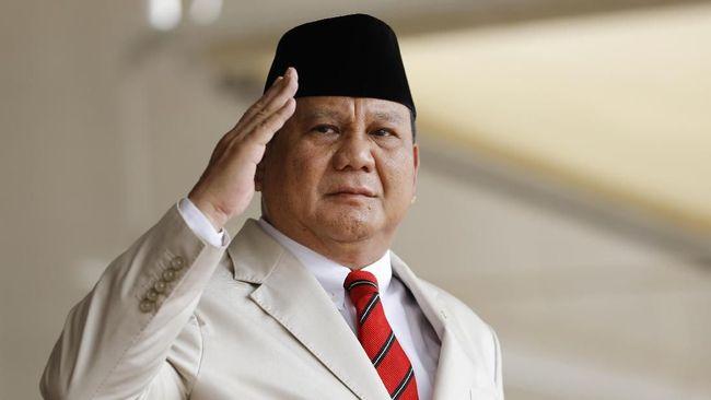 Survei Voxpol Sebut Popularitas Prabowo Masih yang Tertinggi
