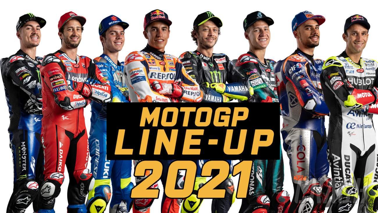 Susunan Pebalap MotoGP 2021, Berikut Daftar Lengkapnya