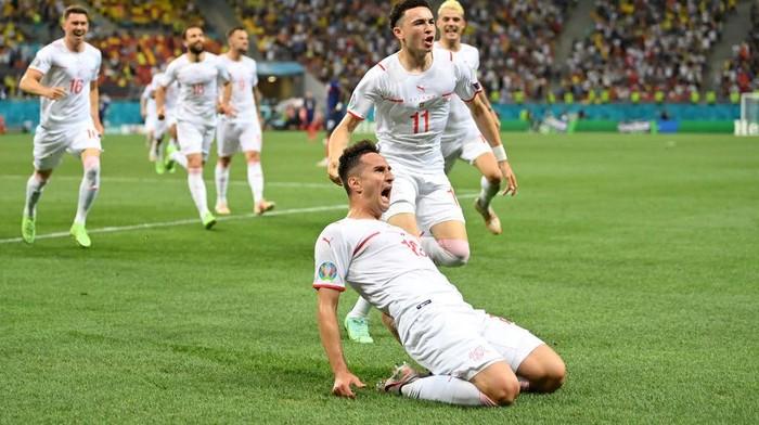 Swiss Singkirkan Juara Dunia Lewat Drama Adu Penalti