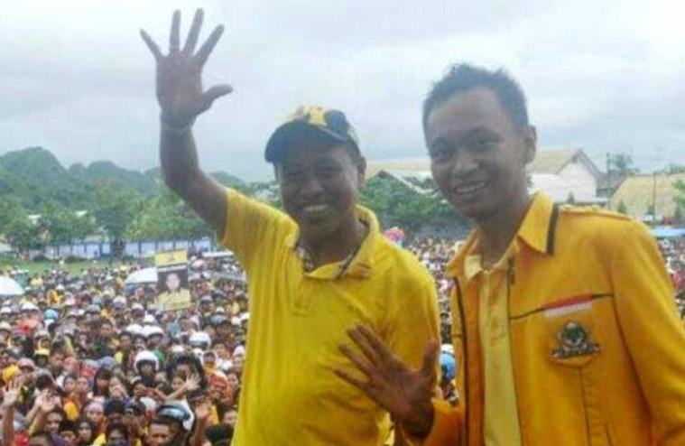 TP Tunjuk Putra Syamsuddin Hamid Sebagai Plt Ketua Golkar Pangkep