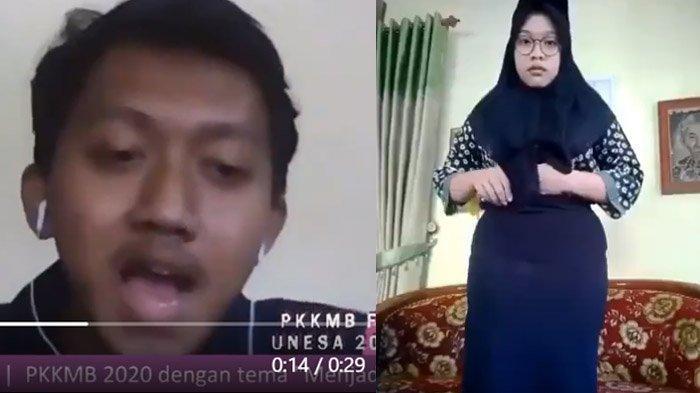 Tak Pakai Ikat Pinggang, Senior Bentak Mahasiswa Baru Saat Ospek Online