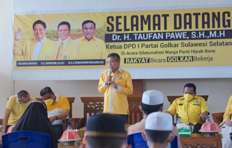 Taufan Pawe Belum Restui Komposisi Pengurus DPD II Golkar Makassar