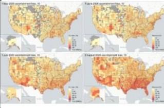 Teknologi Mutakhir, Peta ini Mampu Deteksi Resiko Infeksi Covid-19
