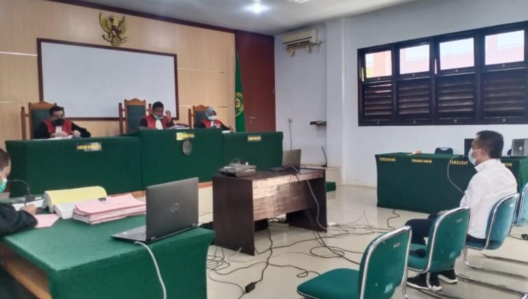 Terbukti Bersalah, Wakil Ketua  DPRD Konkep Dijatuhkan Hukuman 5 Bulan