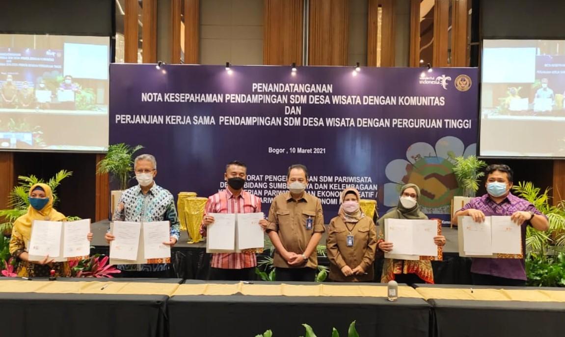 Termasuk PT Berprestasi, UNIFA Ditunjuk Sebagai Pendamping SDM Wisata dan Komunitas oleh Kemenpar RI
