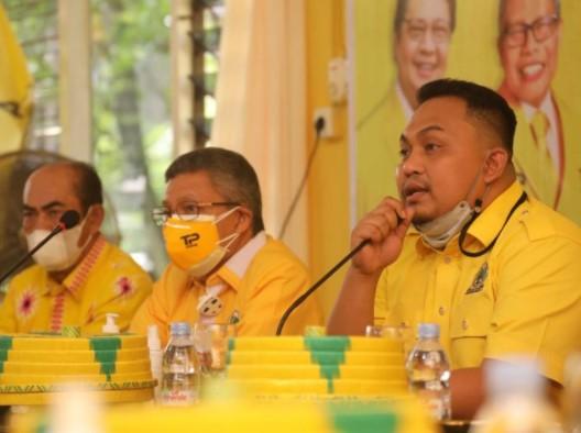 Terpilih Aklamasi, Menantu NA Pimpin Golkar Bantaeng