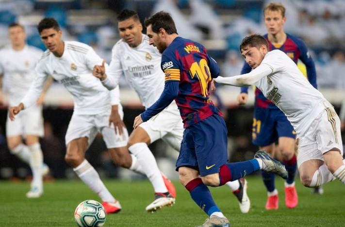 Tiga Poin di El Clasico Jaga Asa Real Madrid dan Barcelona Raih Trofi Juara