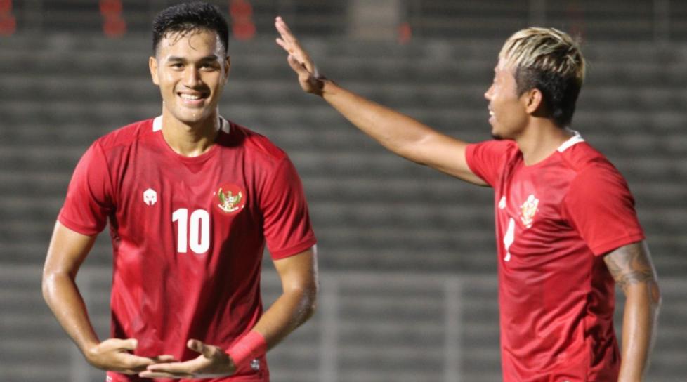 Timnas Indonesia U-23 Tumbangkan Tira Persikabo 2-0