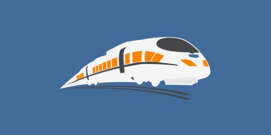 Tiongkok Kembangkan Kereta Super Cepat, Kecepatan Setara Pesawat