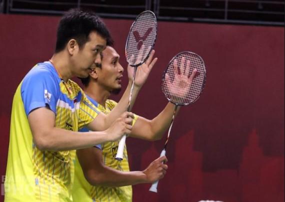 Toyota Thailand Open : Mohammad Ahsan/Hendra Setiawan Gagal Melenggang ke Final