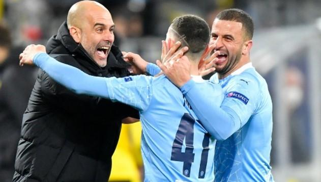 Tumbangkan Dortmund 2-1, Man City Lolos ke Semifinal Liga Champions