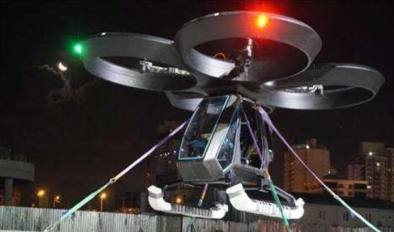 Turki Sukses Uji Coba Mobil Terbang Pertamanya