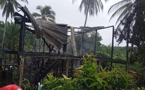 Uang Rp 100 Juta Ludes Terbakar Usai Rumah Dilahap Si Jago Merah
