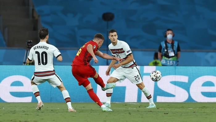 Unggul 1-0 Atas Portugal, Belgia Melenggang ke Perempat Final