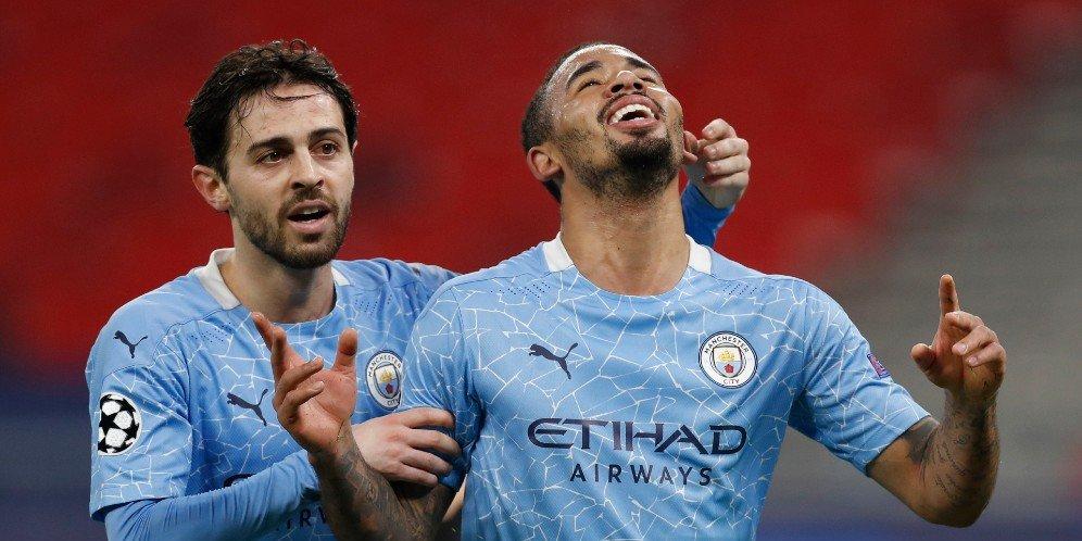 Unggul Agregat 4-0 Manchester City Lolos ke 8 Besar Liga Champions
