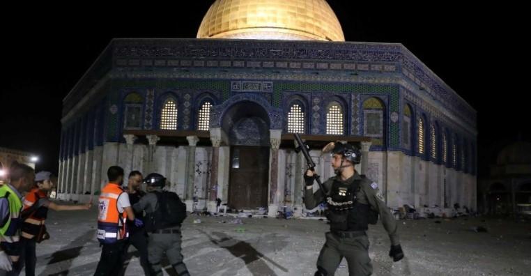 Uni Eropa Kecam Kekerasan di Masjid Al Aqsa