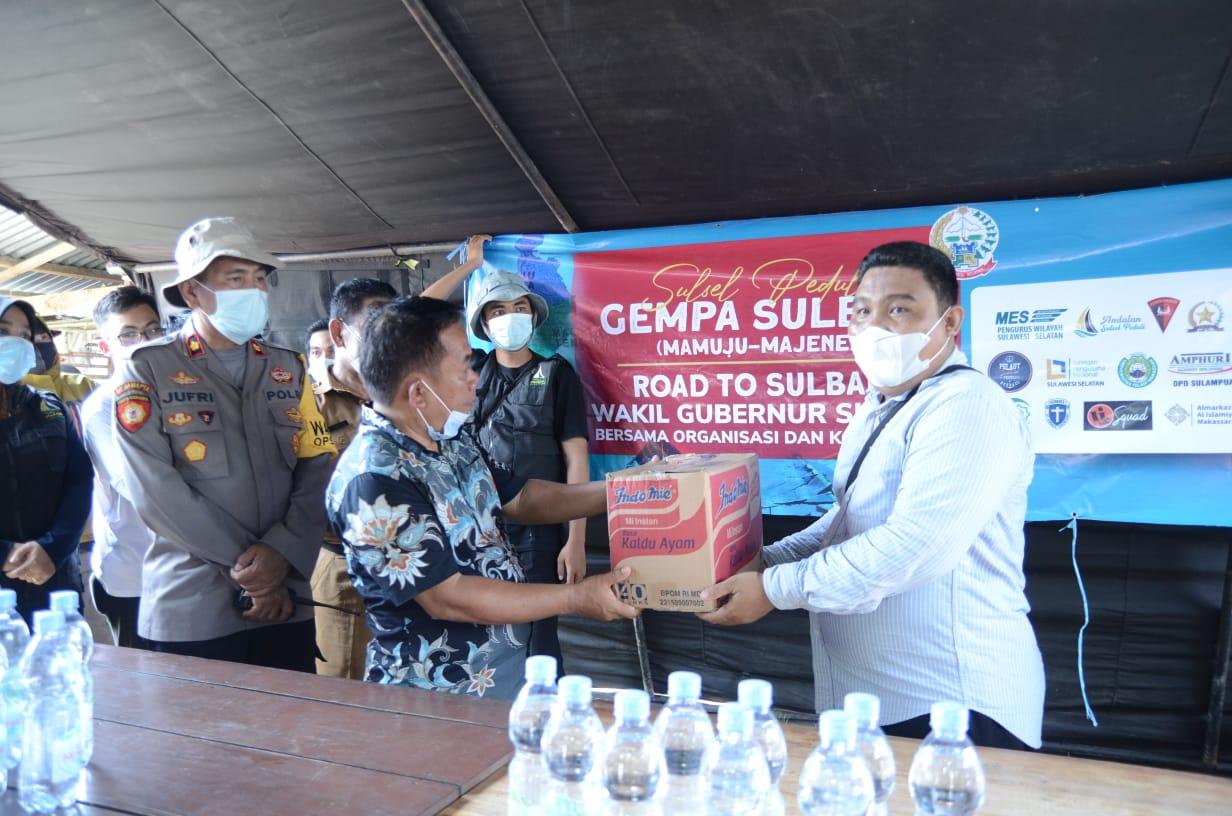 Unifa Terjunkan Mahasiswa Program KKNE ke Lokasi Bencana Gempa Sulbar