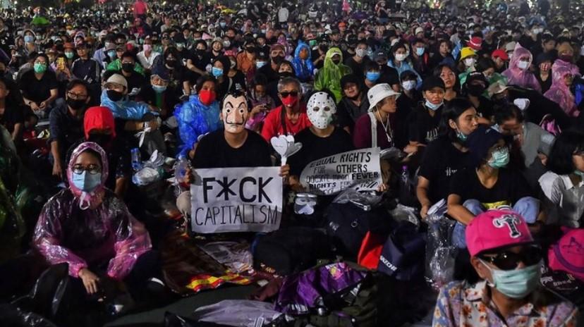 Unjuk Rasa di Thailand Tuntut Mundur Perdana Menteri dan Reformasi Kerajaan