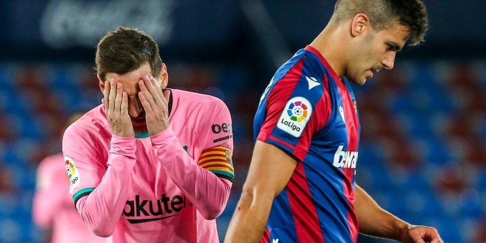 Usai Imbang Lawan Levante, Barcelona Pesimis Jadi Kampiun La Liga Musim Ini