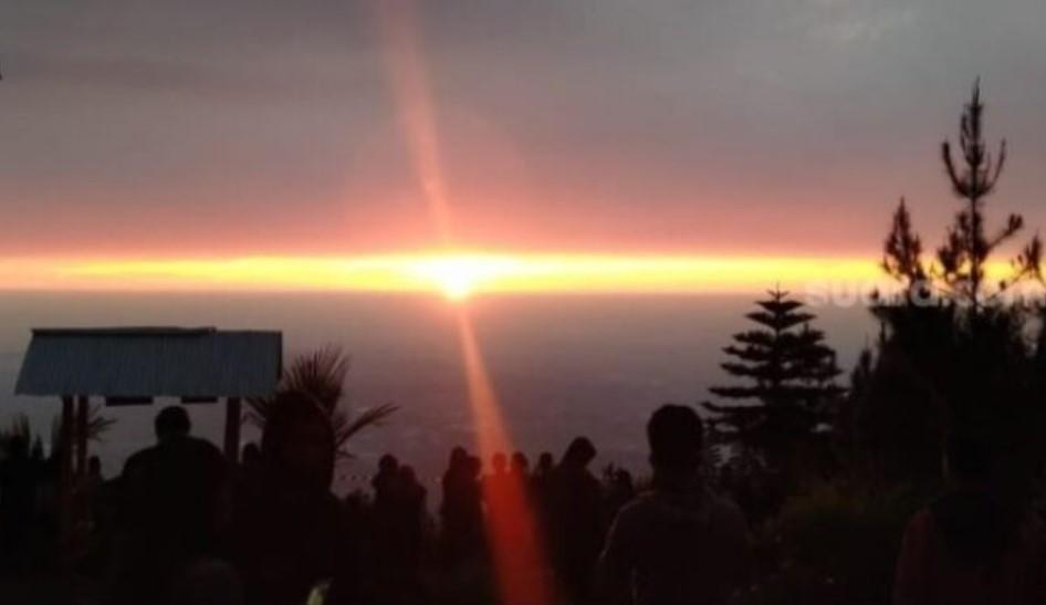 Viral Matahari Terbit Dari Utara, Begini Penjelasan LAPAN