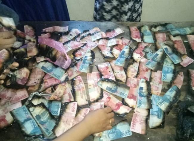 Viral, Uang Tabungan Haji Rp 90 Juta Ludes Dilahap Si Jago Merah