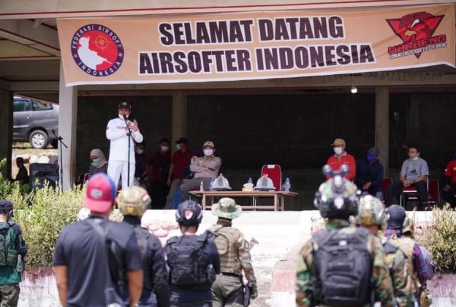 Wagub Sulsel Buka Parangloe Operation Airsofter Indonesia