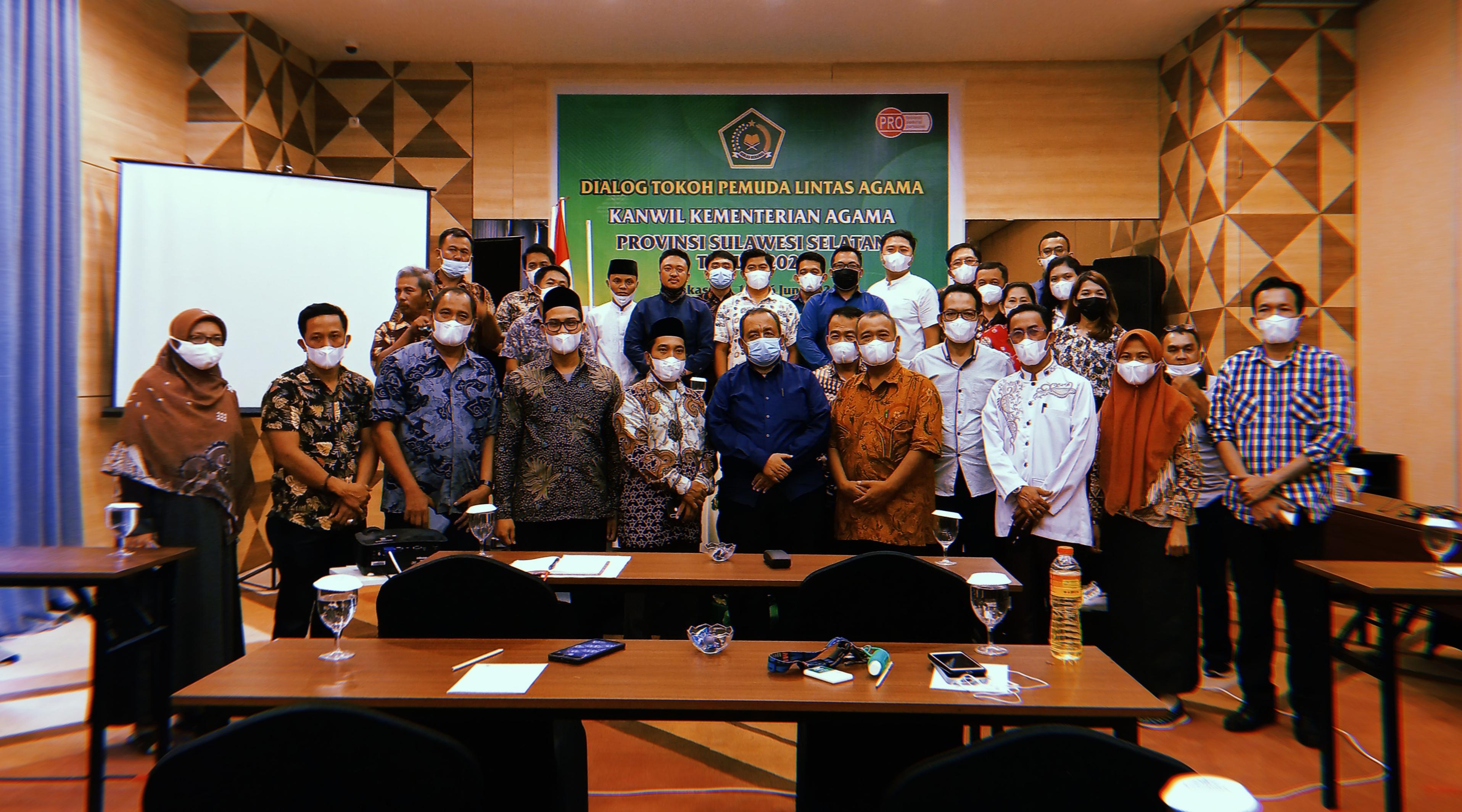 Generasi Muda FKUB siap Bersinergi dengan Kanwil Sul-Sel dalam Mengawal Isu Kerukunan dan Moderasi Beragama