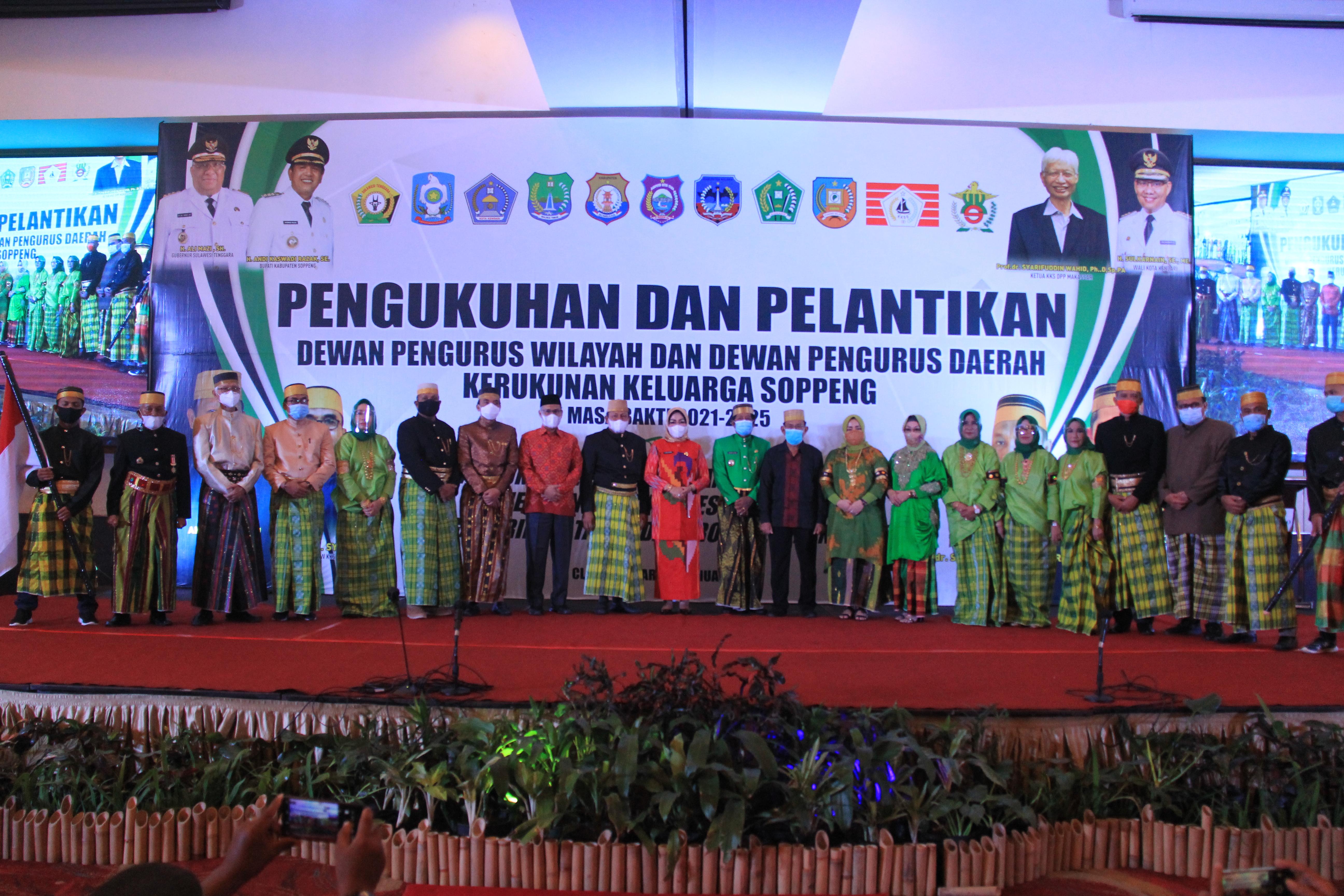 `Sitiroang Deceng Tessitiroang Jaa, Siiwata Menre Tessirui Noo`, KKS Siap Berkontribusi  Dalam Pembangunan Sultra
