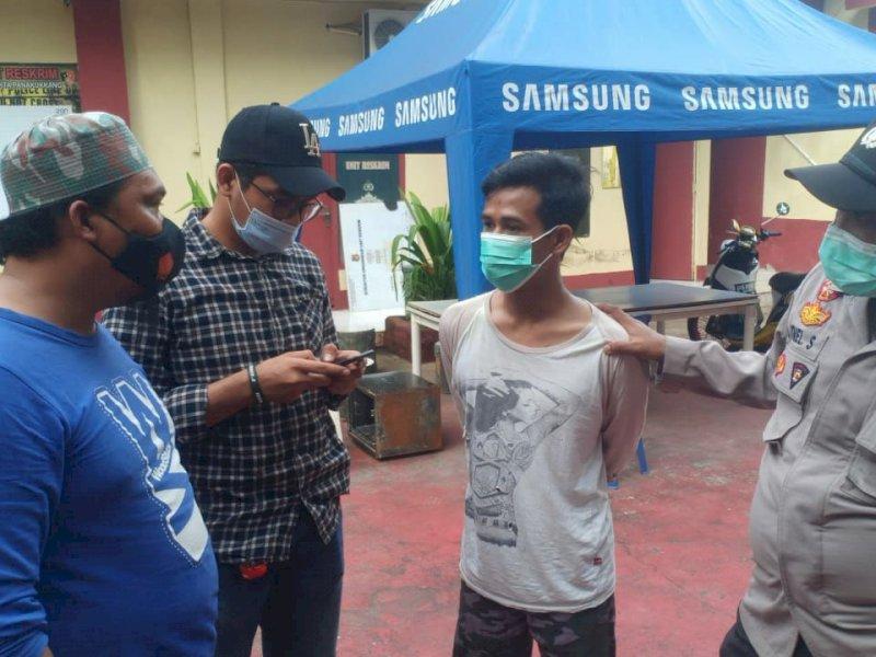 Bukan Ayahnya ! Pelaku Penganiayaan Bayi di Makassar Diciduk Polisi